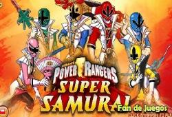 jeux de power ranger super samurai