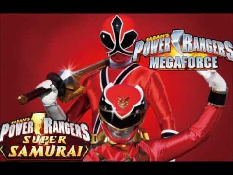 jeux de power rangers megaforce vs samurai