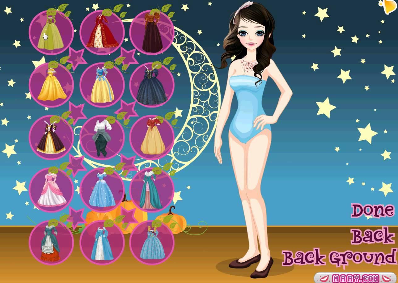 jeux de princesse cendrillon