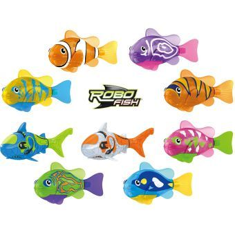 jeux de robot fish