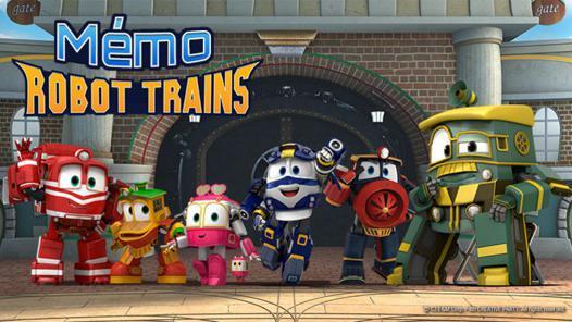 jeux de robot train