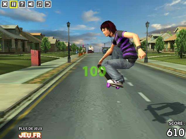 jeux de skateboard
