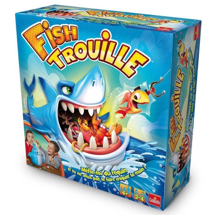 jeux de société avec requin