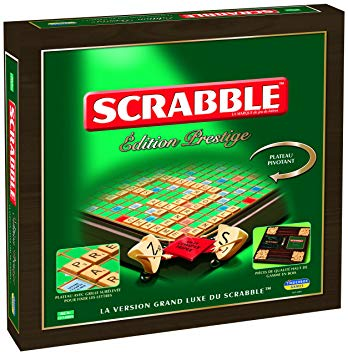 jeux de société scrabble prestige