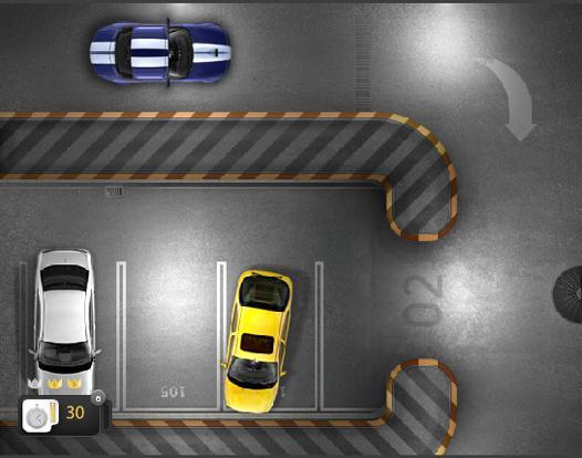 jeux de stationnement voiture