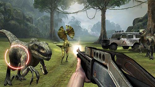 jeux de tir dinosaure