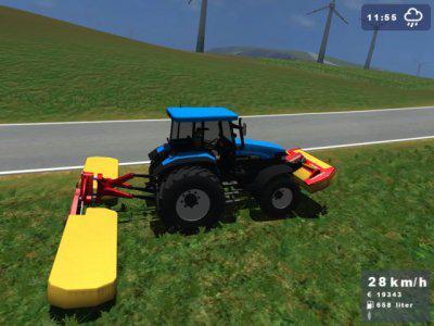 jeux de tracteur parking