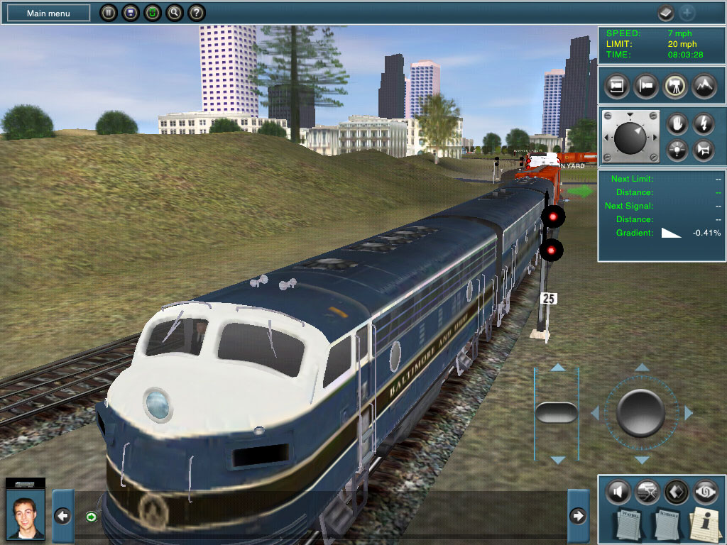jeux de train gratuit en ville