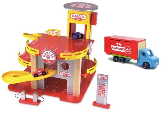 jeux de voiture de garage