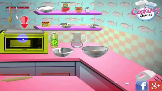 jeux des filles de cuisine