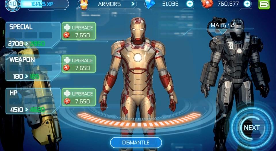 jeux iron man 4
