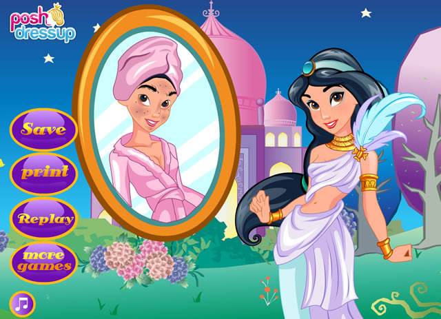 jeux jasmine princesse