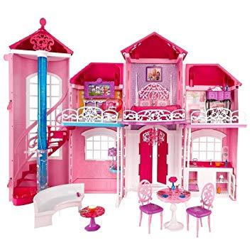 jeux la maison de barbie