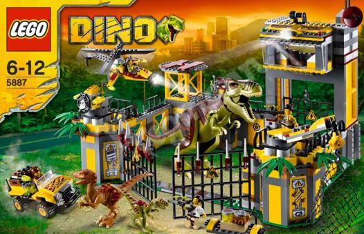 jeux lego dinosaure