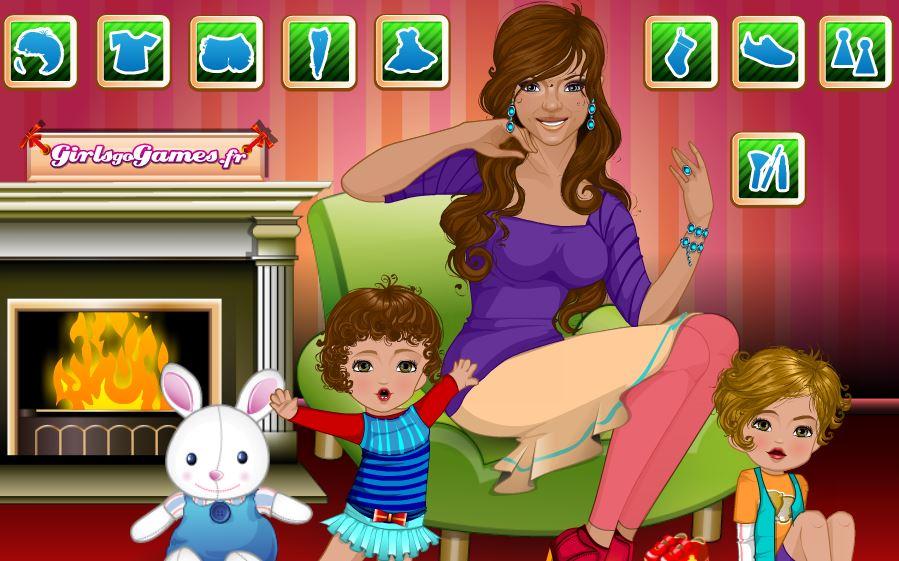 jeux maman