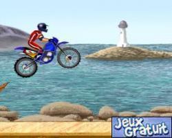 jeux moto cascade
