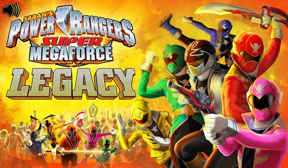 jeux power rangers megaforce