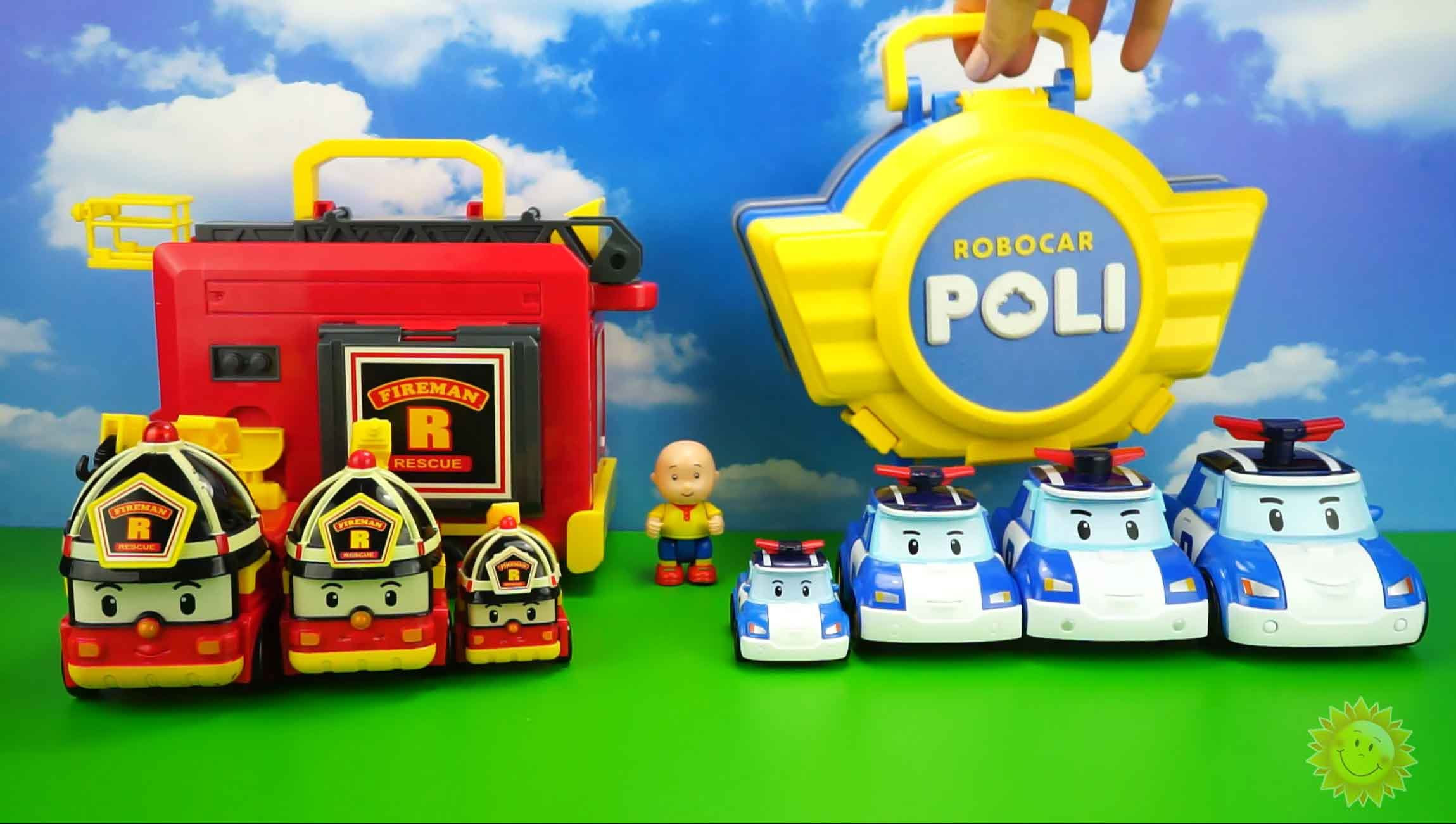 jeux robocar poli