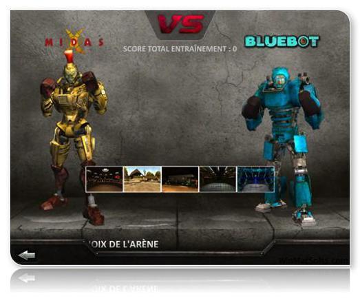 jeux robot combat
