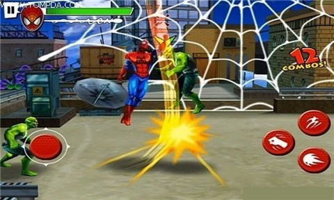 jeux spiderman 4