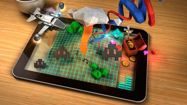 jeux sur tablette