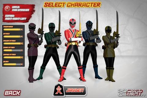 jeux video power rangers samurai gratuit