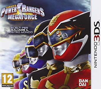 jeux video power rangers