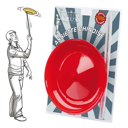 jonglerie assiette chinoise