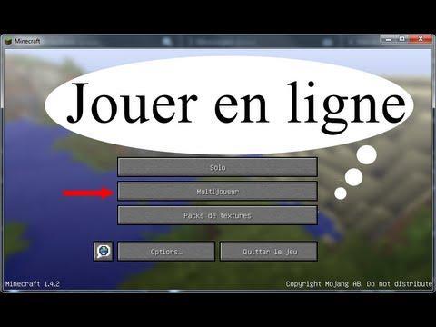jouer en ligne minecraft
