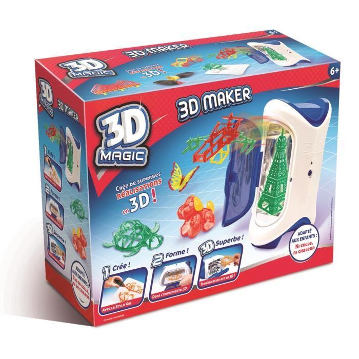 jouet 3d maker