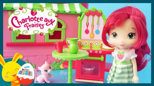 jouet charlotte aux fraises