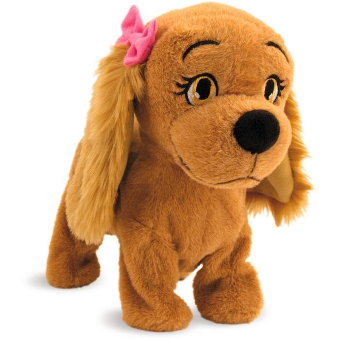 jouet chien animé