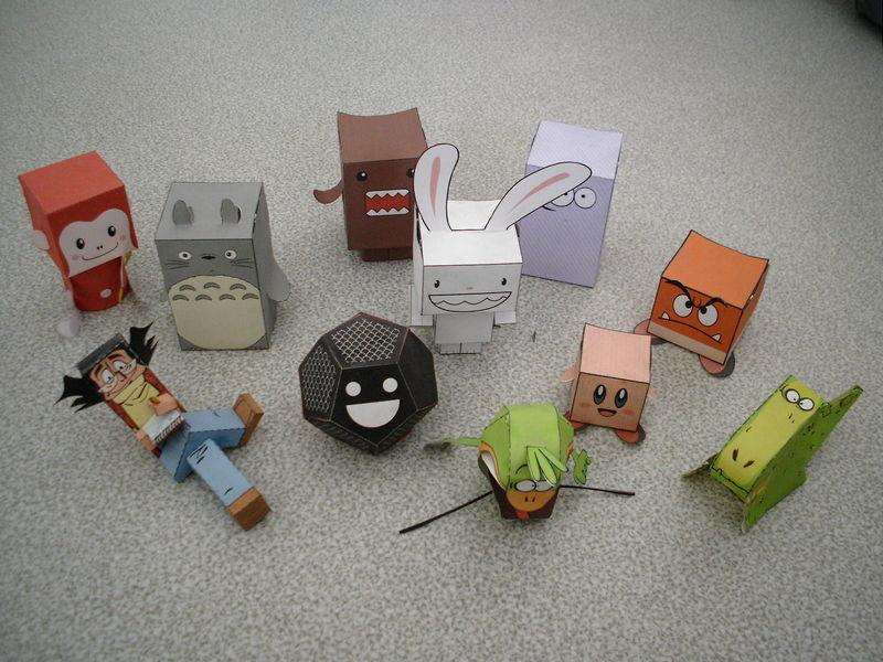 jouet en papier