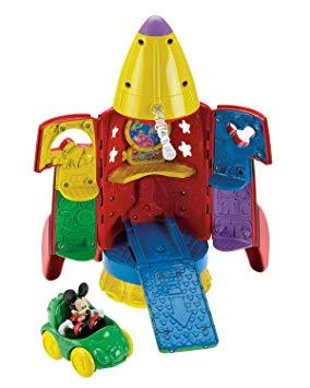 jouet fusée mickey