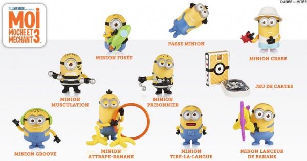 jouet minion mcdo