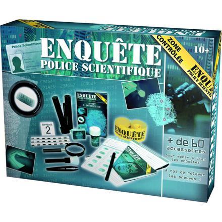 jouet police scientifique