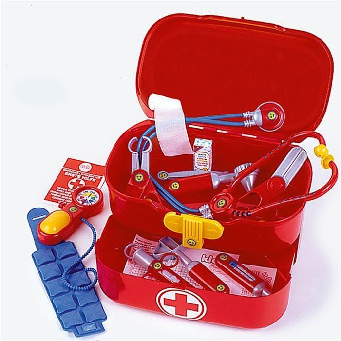 jouet valise docteur