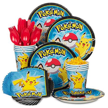 kit anniversaire pokemon