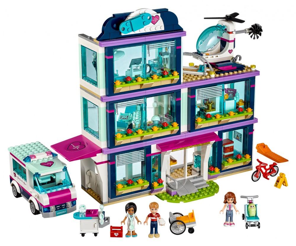 l hôpital lego friends