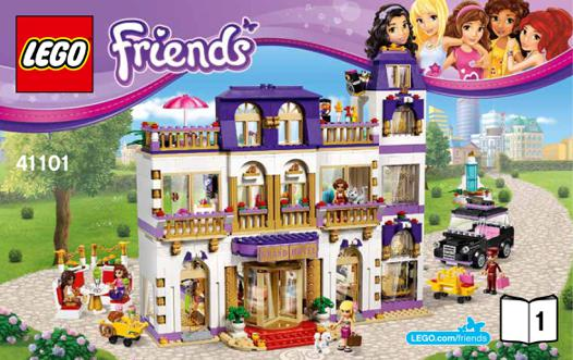 l hotel lego friends
