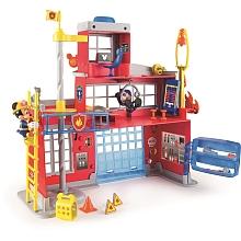 la caserne de pompier mickey