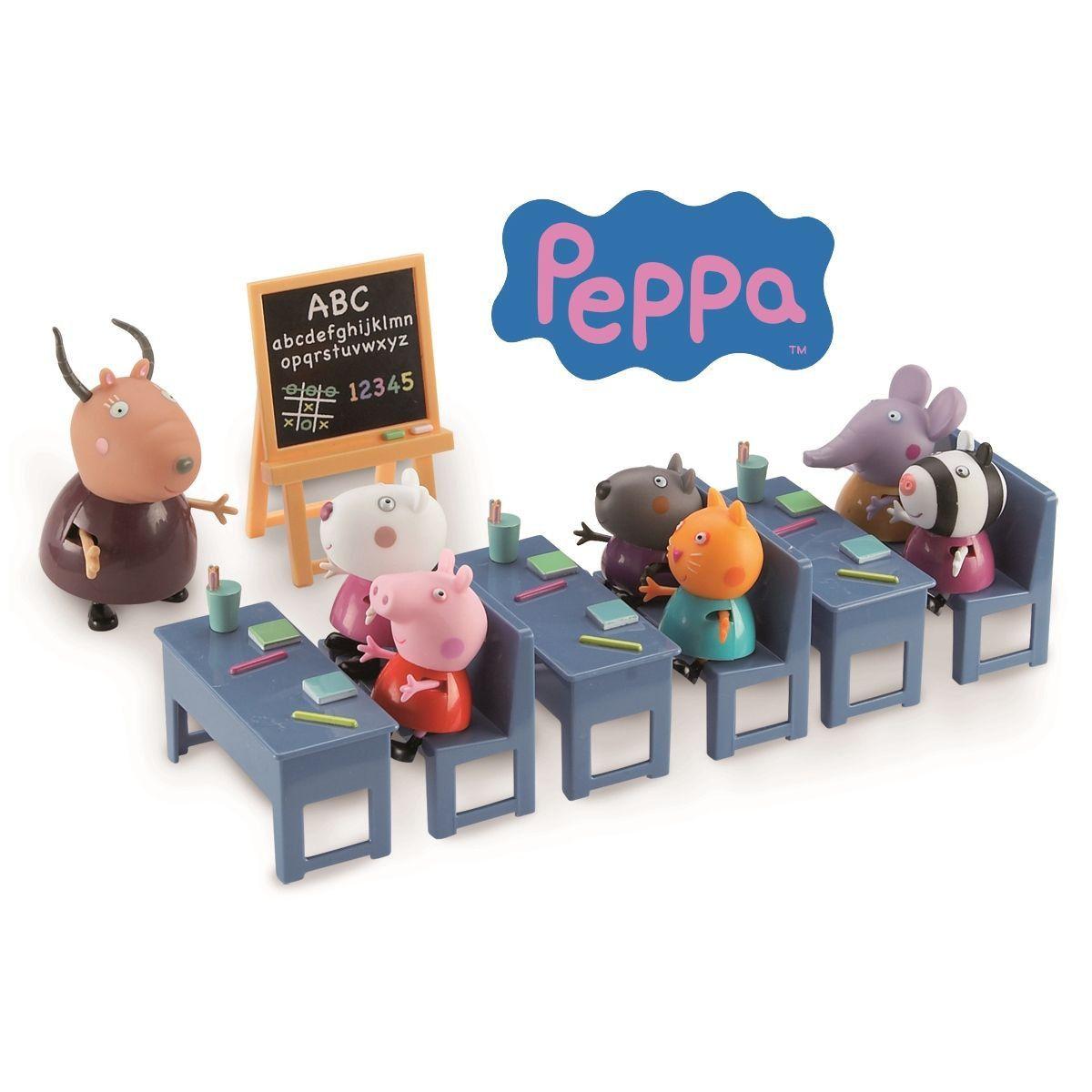 la classe de peppa pig