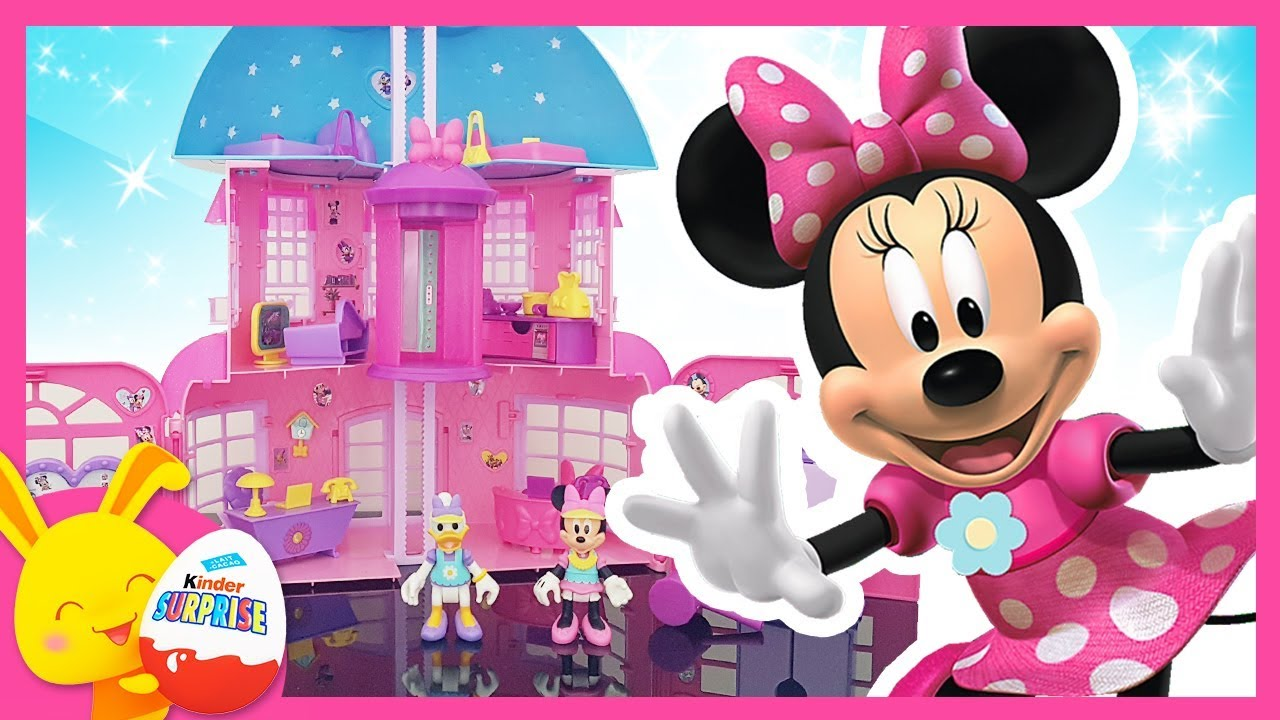 la maison de minnie youtube