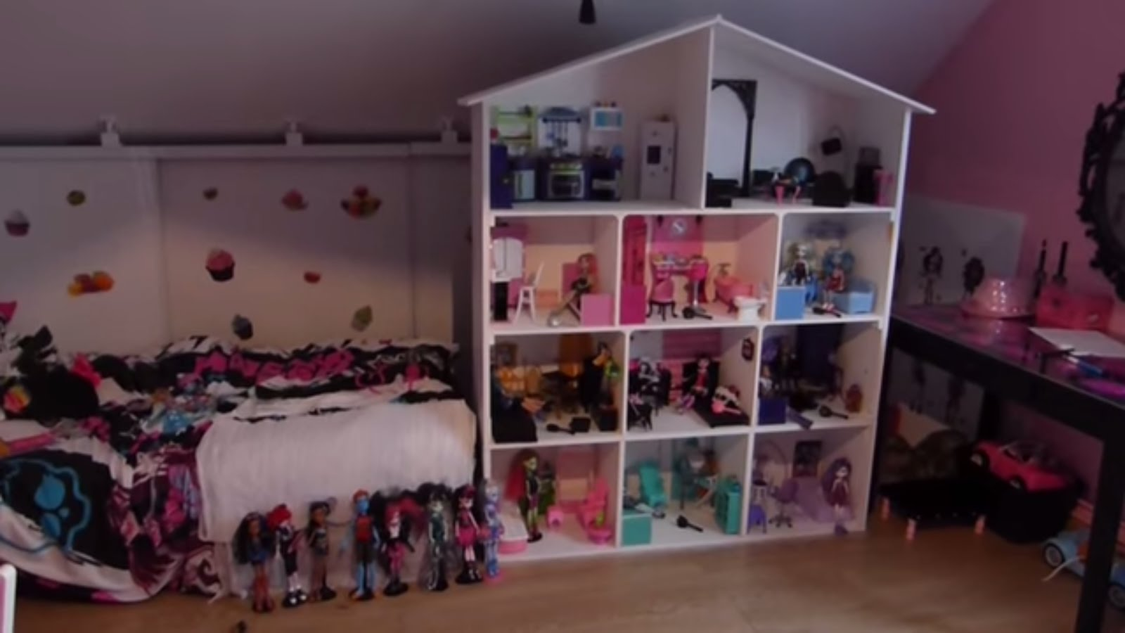 la maison des monster high