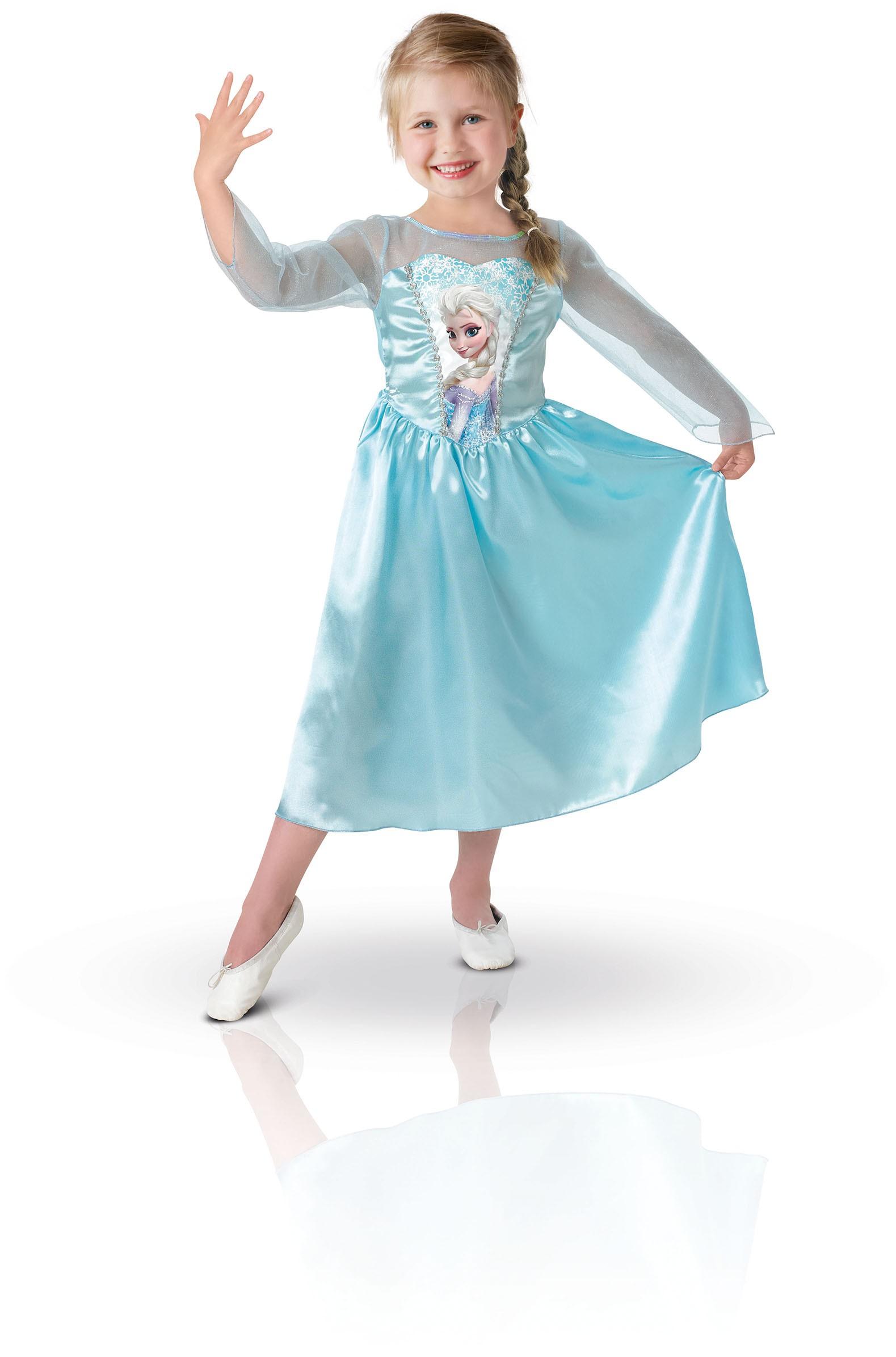la reine des neiges petite fille