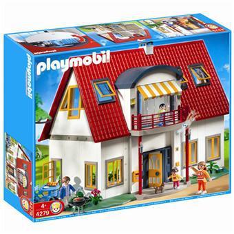 la villa moderne playmobil