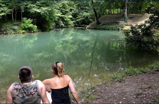lac bleu amberieu