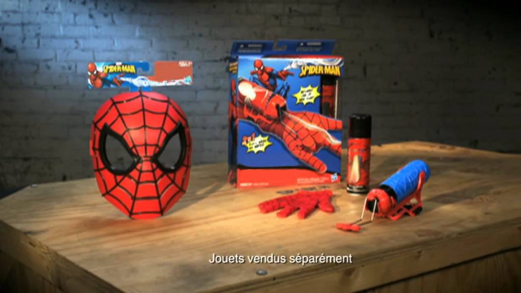 lance fluide spiderman video