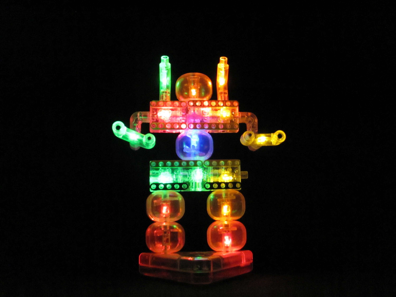 laser pegs robot