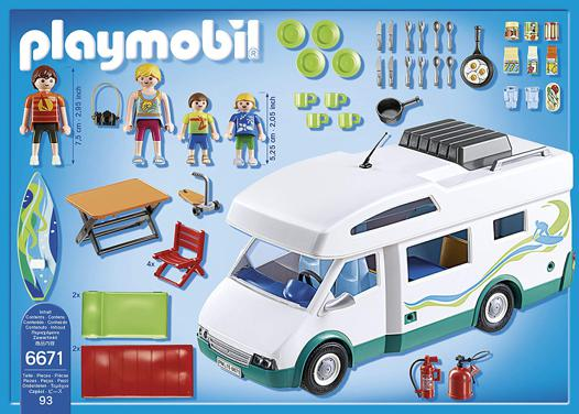 le camping car playmobil